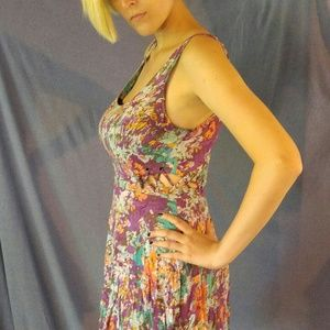 Lucca Couture floral dress size 4